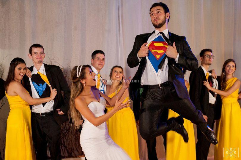 Super Homem, balada