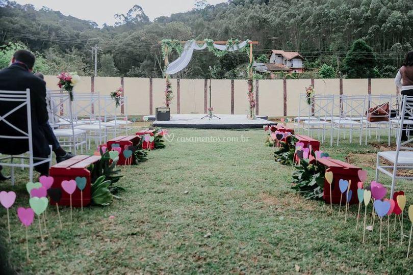 Caminho dos Noivos e Altar