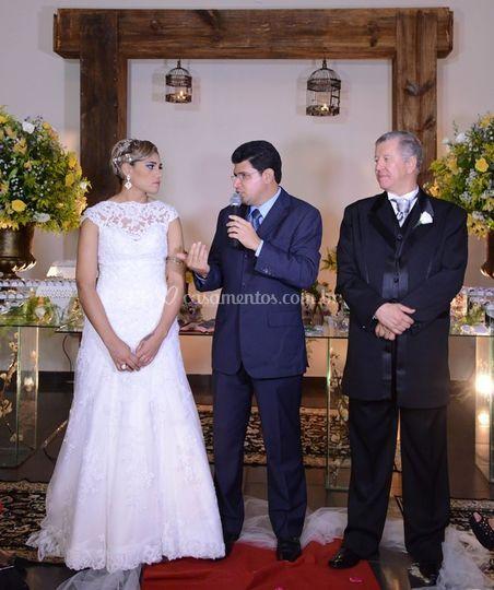 Cerimônia Pollyana e Donizetti