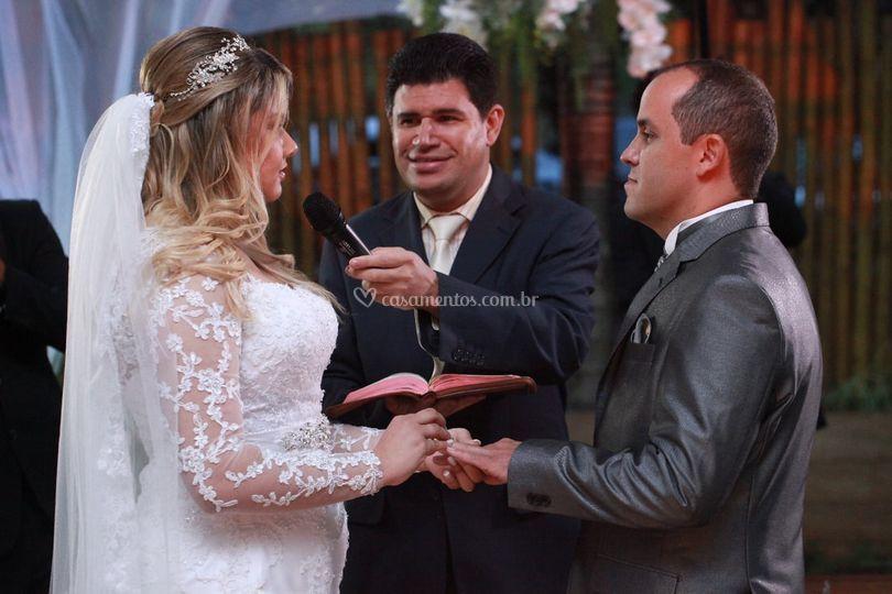 Cerimônia Priscila e Renan
