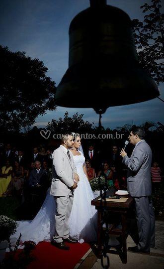 Cerimônia Fernanda e Guilherme