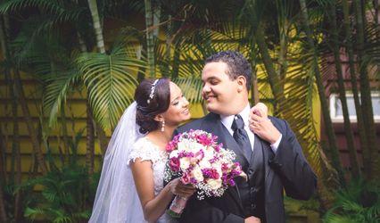 O casamento de Luciana e Alexandre
