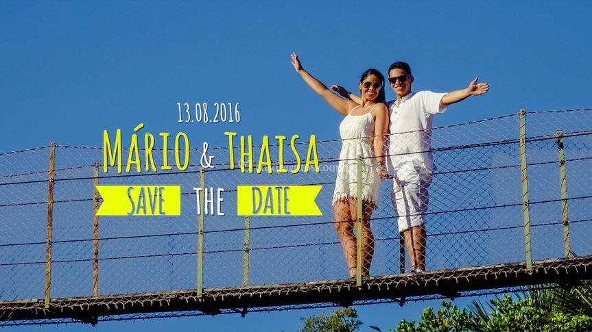 Save the Date Mário & Thaisa
