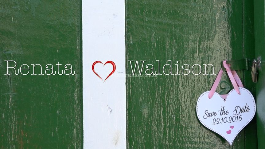 Save the Date Renata & Waldiso