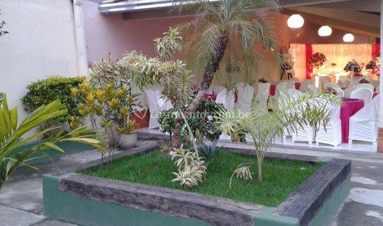 Area de jardim