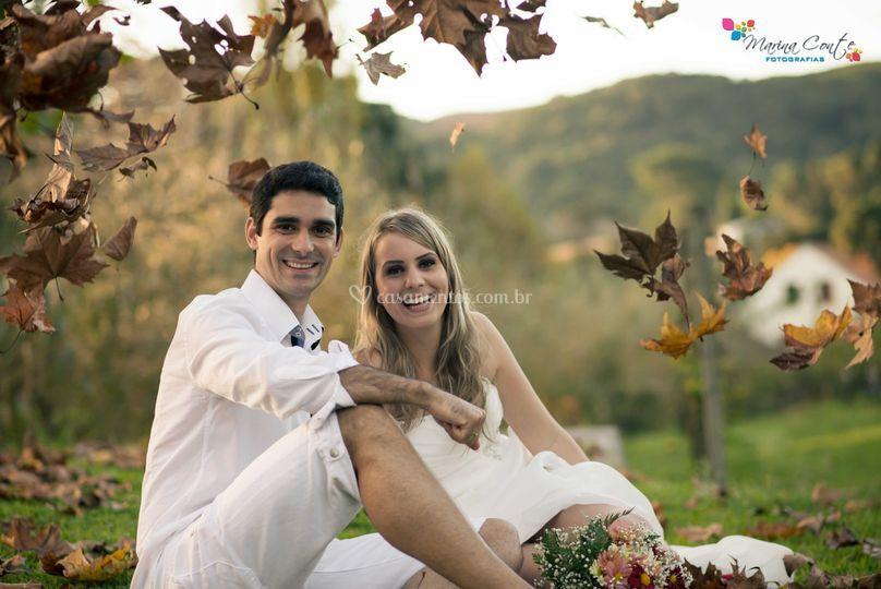 Ensaio pré - casamento
