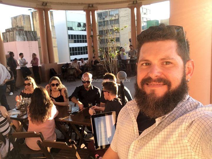 Evento - Café Santo de Casa