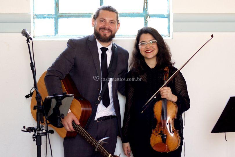 Dupla com Violino