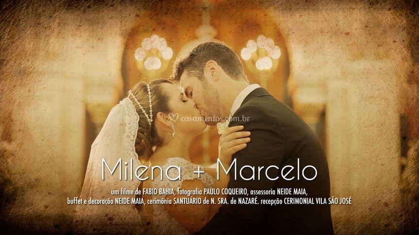 Milena e Marcelo