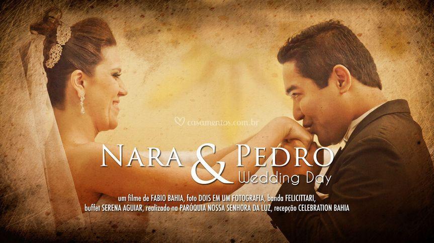 Nara e Pedro