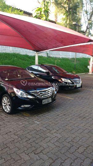 Hyundai sonata e Nissan sentra
