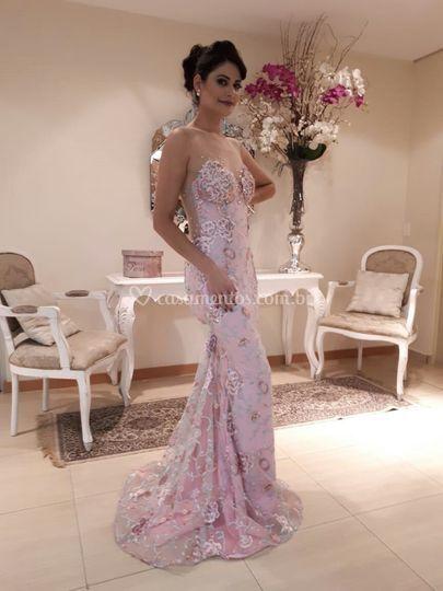 Lindo vestido exclusivo