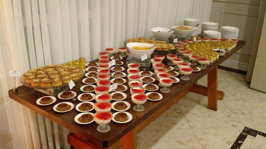 Mesa de sobremesas