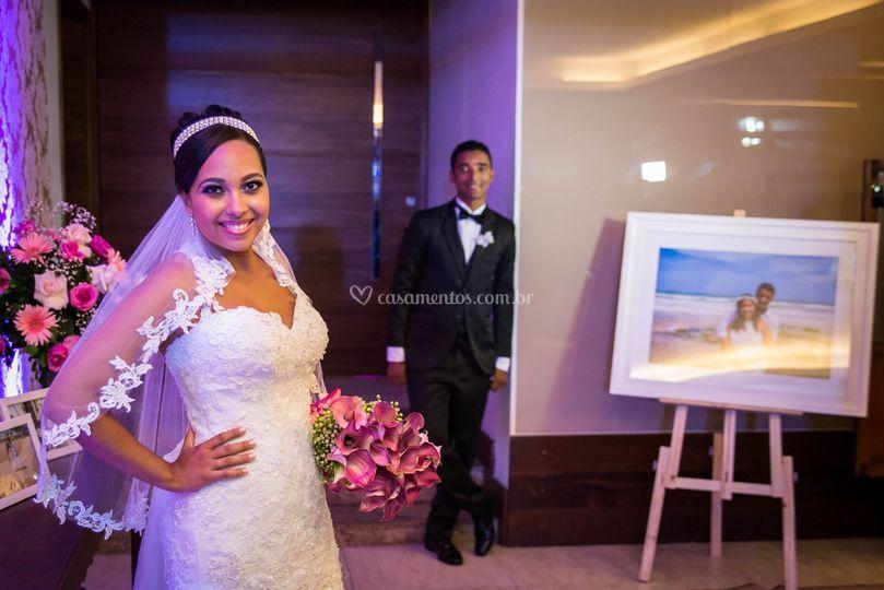 Noiva em pose