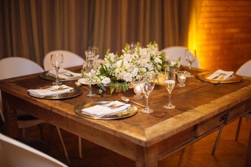 Mesa dos noivos- Clássica