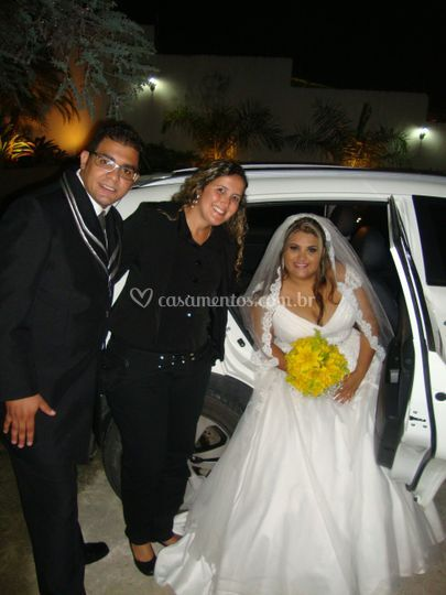 Noivos Anne e Guilherme