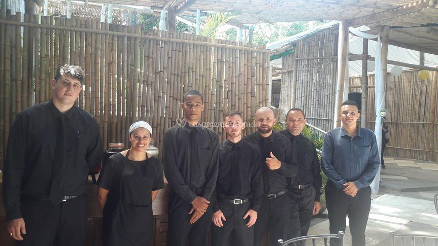 Equipe de garçom