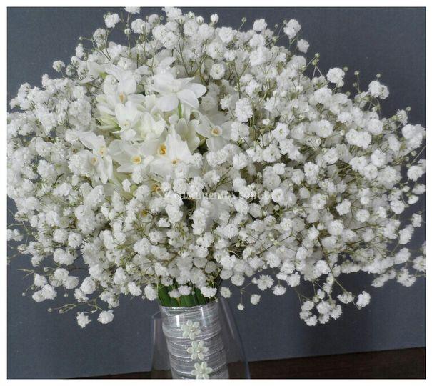 Bouquet  de gipsofila