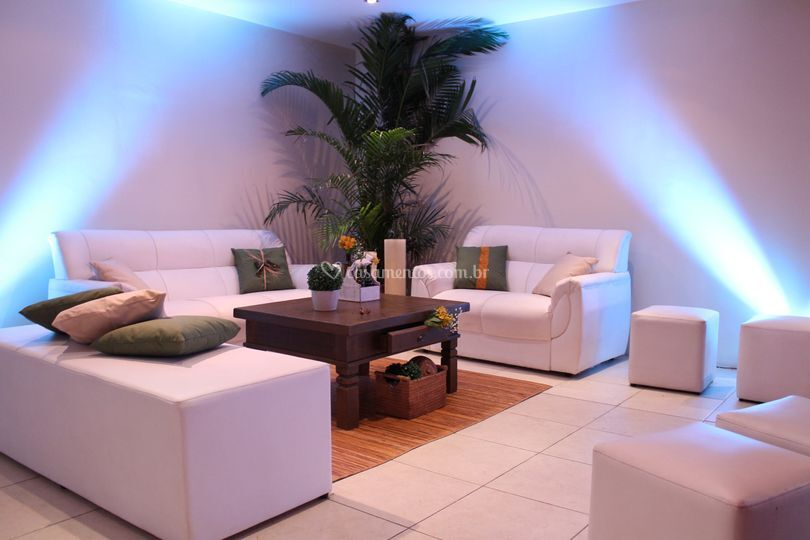Lounge interno Espaço Magnolia