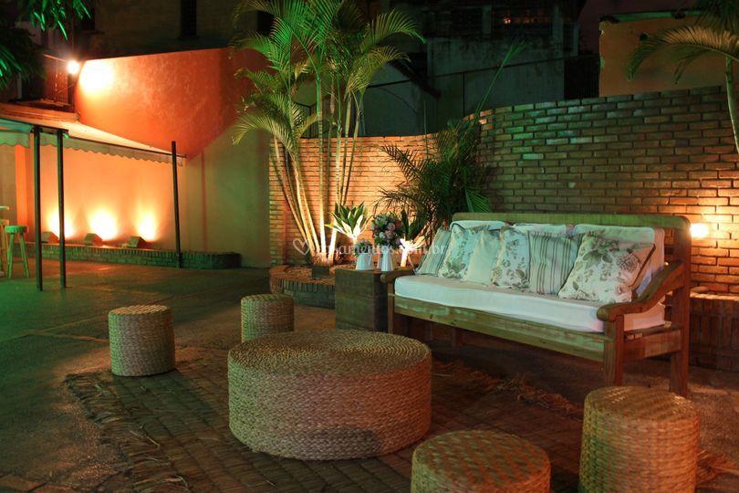 Lounge Área aberta