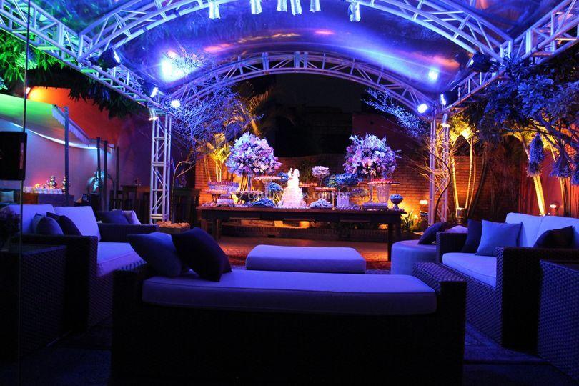 Lounge Externo-Espaço Magnólia
