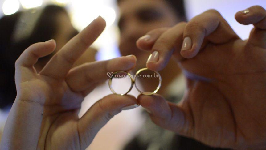 Imagem do vídeo de casamento