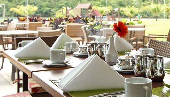 Café da manhã, almoço e jantar