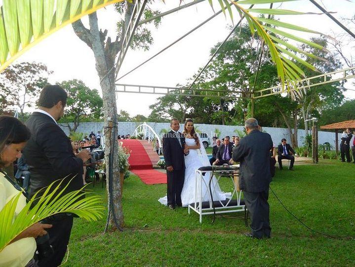 Casamento No Jardim De Sitio Renovo ~ Casamento No Jardim Ideias