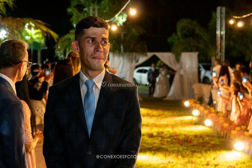 À espera da noiva