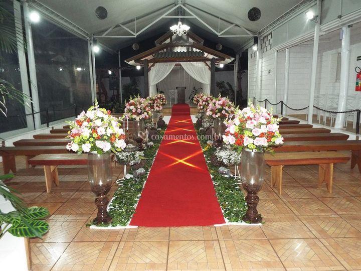 Caminho da cerimônia