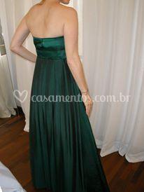 Vestido de madrinha de Debora Quer