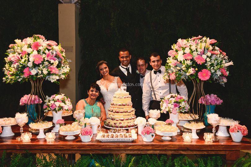 Fotos com os convidados