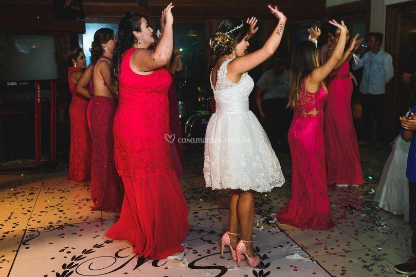 Dança das madrinhas