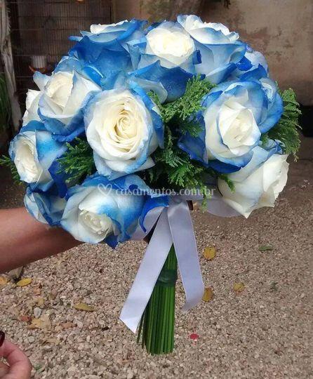 Buquê azul