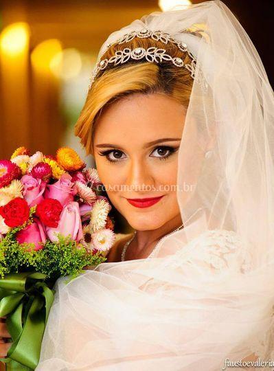 Cuidando da noiva