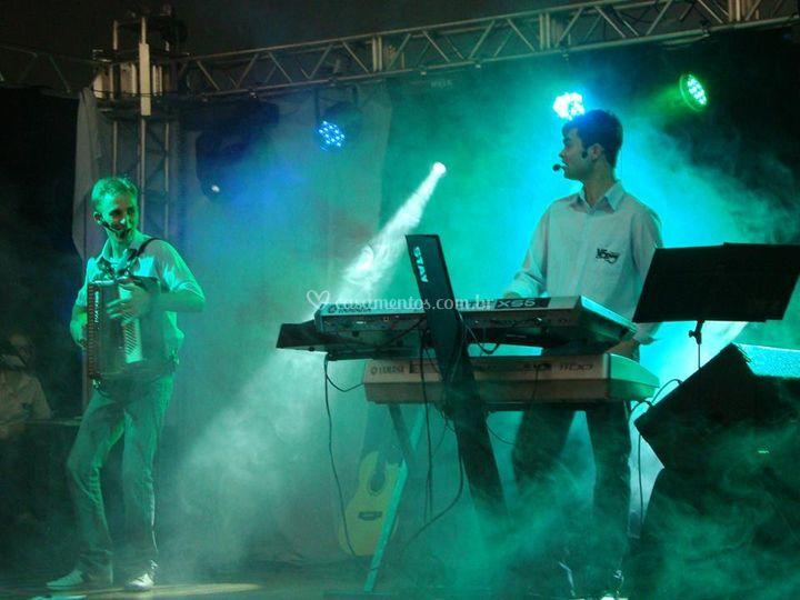 Performance dos músicos
