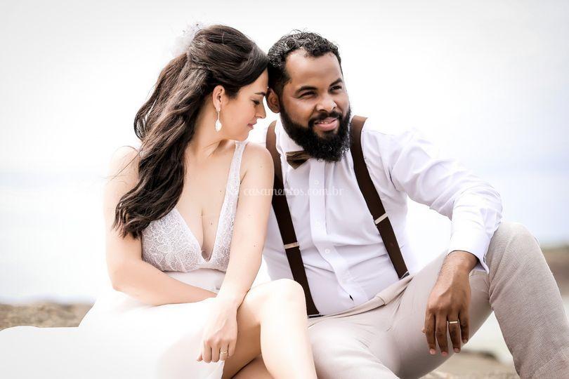 Uelton e Raquel Lacerda