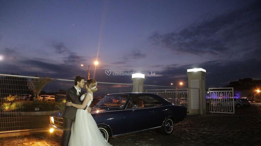 Frames do vídeo de casamento