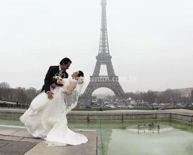Noivos en Paris