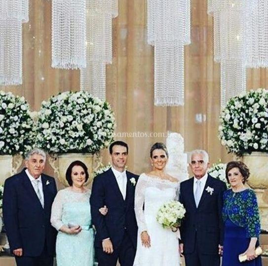 Acessória dos noivos