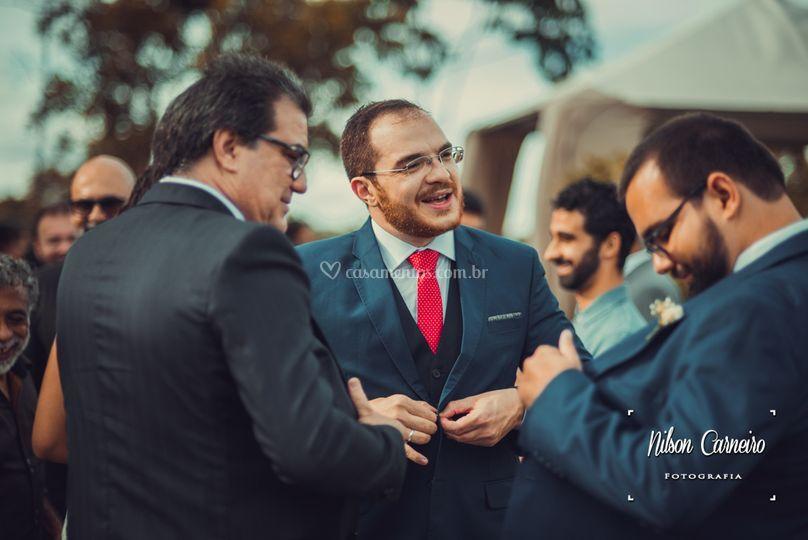 Expontâneas noivo