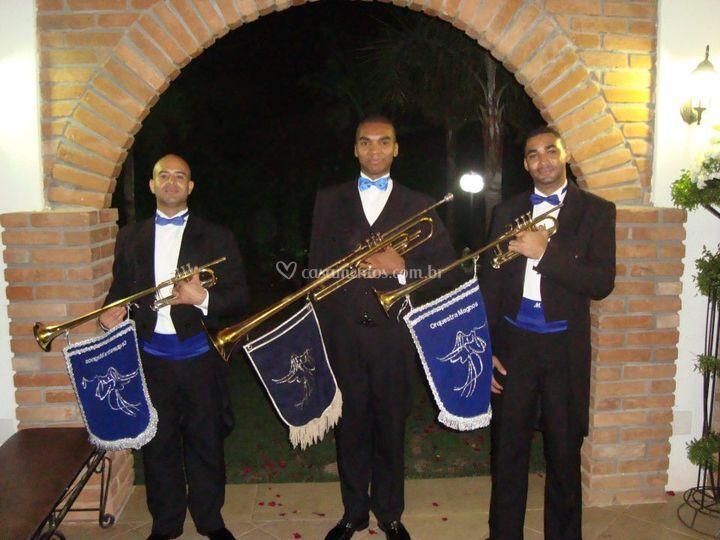 Musicos da Orquestra