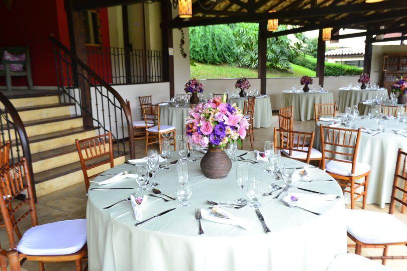 Salão mesa