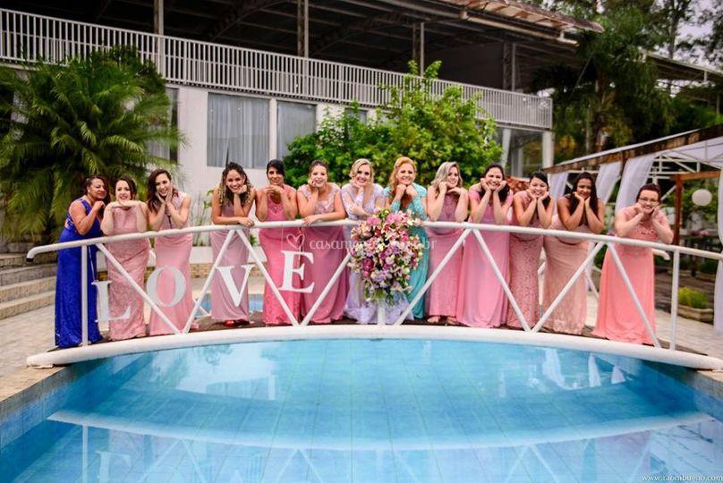 Ponte piscina madrinhas