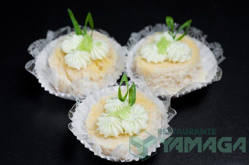 Canapés de wasabi