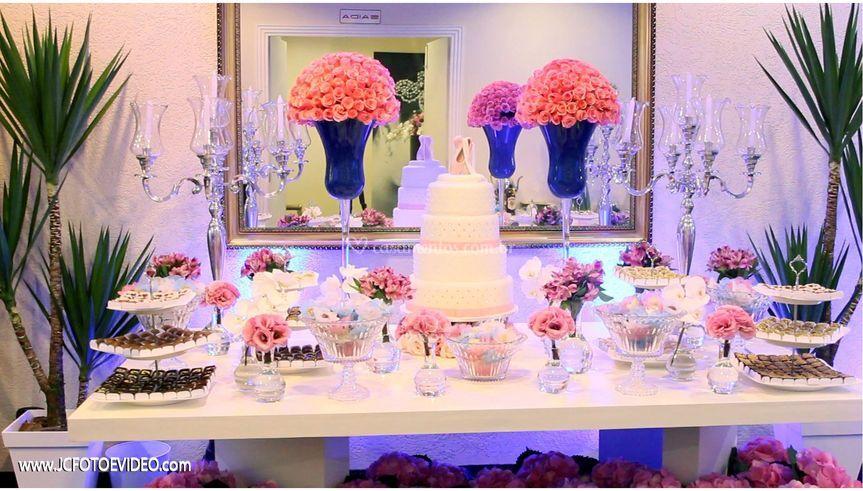 Mesa de bolo (decoração)