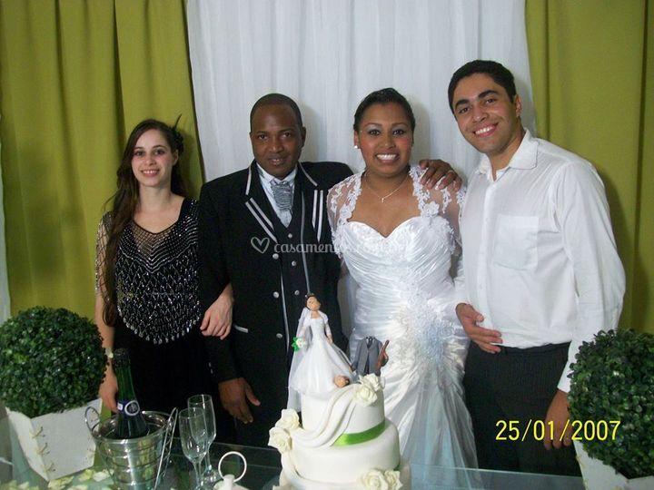 Atuando em casamento