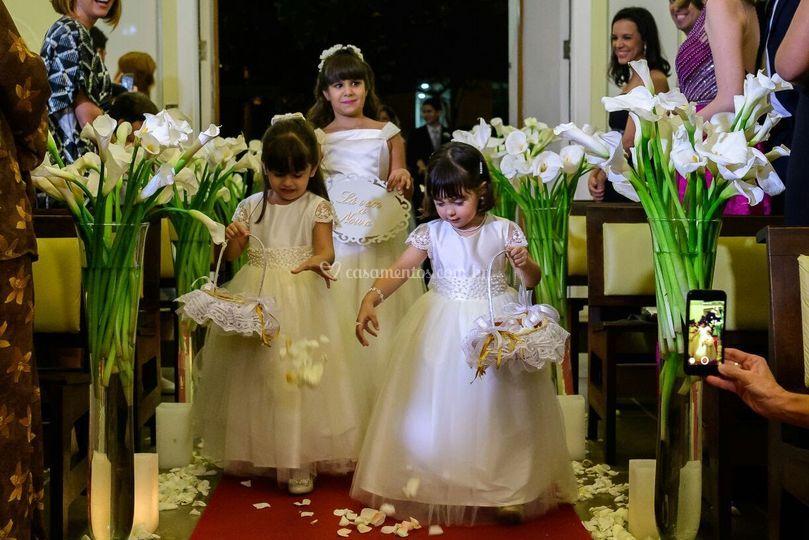 Damas floristas