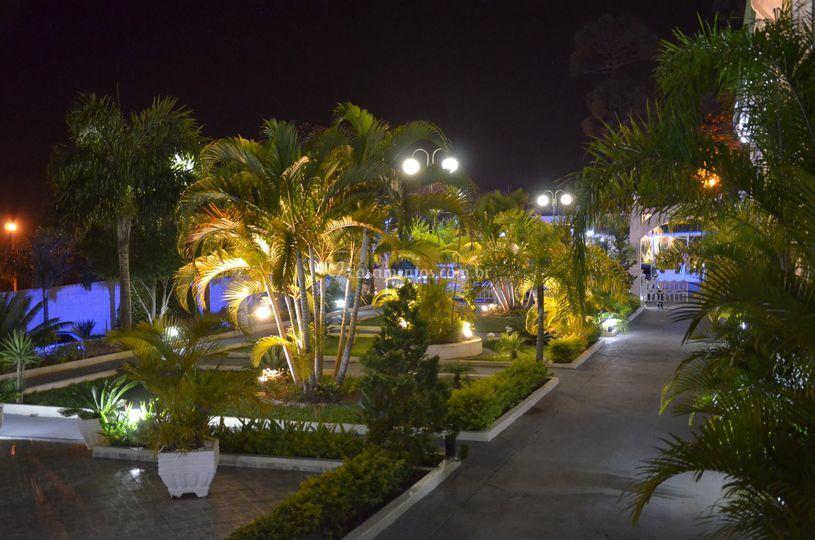 Jardim para fotos
