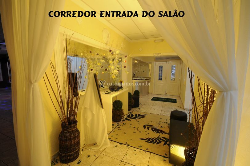 Hall de entrada do salão